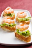 Shrimp toasts Royalty Free Stock Photo