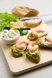 Shrimp toasts Royalty Free Stock Image