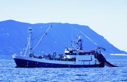 Shrimp trawler Stock Photography
