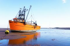 Shrimp trawler . Royalty Free Stock Images