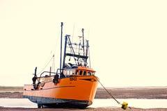 Shrimp trawler . stock image