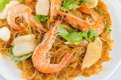 Shrimp vermicelli Royalty Free Stock Photography