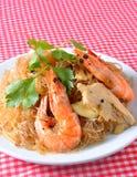 Shrimp vermicelli Thai food Royalty Free Stock Image