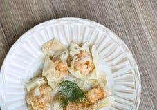 Shrimp wanton Royalty Free Stock Images