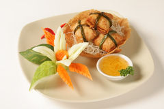 Shrimp wonton Stock Image