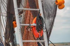 Shrimpboat immagini stock