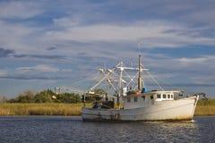 shrimper залива стоковая фотография rf