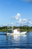 Shrimpingsboot Royalty-vrije Stock Foto's