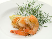 Shrimps Stock Photos