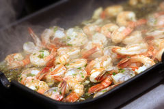 The shrimps Royalty Free Stock Photos