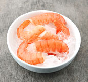 Shrimps close up Royalty Free Stock Image