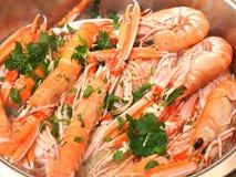 Shrimps Stock Images
