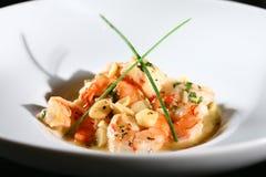 Shrimps dish Stock Photo