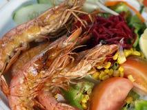 Shrimps dish. Stock Photo