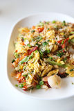 Shrimps fried rice , Chinese food Royalty Free Stock Photos