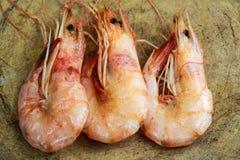 Shrimps fried Stock Photos