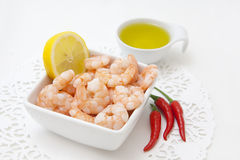 Shrimps and pepper Royalty Free Stock Photo