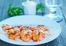 Shrimps Royalty Free Stock Photo