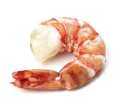 Shrimps. Prawns isolated on a White Background. Seafood Royalty Free Stock Photos