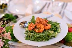 Shrimps royal Stock Images