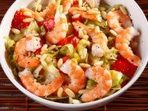 Shrimps salad Royalty Free Stock Photos