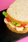 Shrimps sandwich Royalty Free Stock Photos