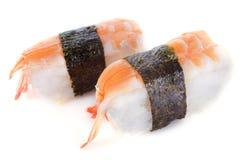 Shrimps shushi Royalty Free Stock Photography