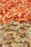 Shrimps tails Royalty Free Stock Images
