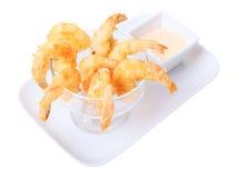 Shrimps tempura Royalty Free Stock Images