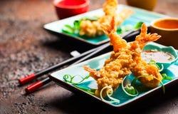 Shrimps tempura Royalty Free Stock Photography