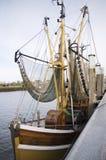 Shrimps trawler Royalty Free Stock Image