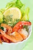 Shrimpscocktail images stock