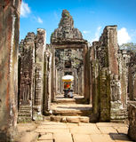 Shrin του Βούδα στο ναό Prasat Bayon σε Angkor Thom, Καμπότζη Στοκ εικόνες με δικαίωμα ελεύθερης χρήσης