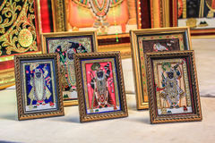 Shrinathji Photo Frames Royalty Free Stock Images