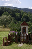 Shrine. In Bieszczady mountain,Poland Royalty Free Stock Photo