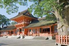 Shrine. Usa jingu, japanese famous shrine Royalty Free Stock Image