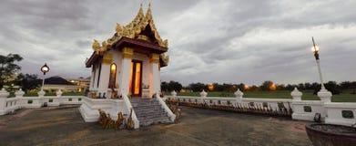 Shrine. A cloudy evening. Worship and faith Stock Photography
