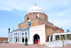Shrine Baha al Haq Stock Image