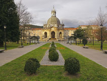 Shrine and Basilica of Loyola, between the towns of Azpeitia and Azcoitia. Stock Photos