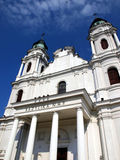 Shrine, the Basilica of St. Mary in Chelm, Poland Stock Images