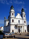 Shrine, the Basilica of St. Mary in Chelm, Poland Royalty Free Stock Image