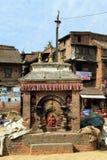 Shrine in Bhaktapur Royalty Free Stock Photos