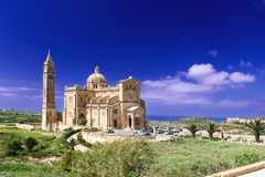 Shrine of the Blessed Virgin of Ta Pinu Gozo Malta horizontal Stock Photo