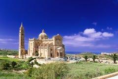 Shrine of the Blessed Virgin of Ta Pinu Gozo Malta horizontal. The National Shrine of the Blessed Virgin of Ta' Pinu, Gozo, Malta Stock Photo