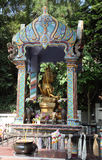 Shrine in a buddhist temple Royalty Free Stock Photography