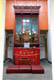 Shrine in buddhist temple Royalty Free Stock Image