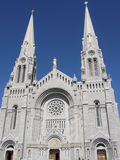 Shrine and Cathedral at Ste Anne de Beaupre Stock Photography