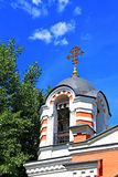 Shrine Chapel of the Archangel Michael in Moscow Stock Photos