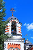 Shrine Chapel of the Archangel Michael in Moscow Stock Image