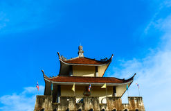 Shrine of china in thailand Royalty Free Stock Images